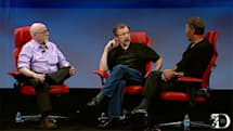 Pixar president Dr. Ed Catmull, Oracle's Larry Ellison discuss Steve Jobs