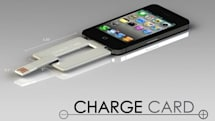 ChargeCard: An iPhone charger in your wallet