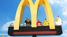 More on Angry Birds Star Wars, and location-based McD's promo in China