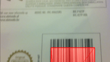 Cut the barcode scanning cord with CLZ Barry for iPhone