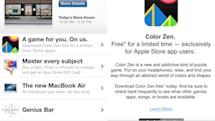 Apple Store app offers free downloads