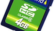 Transcend's 4GB SDHC high-speed class 6 card