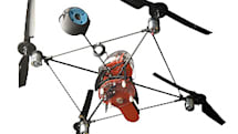 """Draganfly SAVS R/C helicopter does aerial photography """"on the cheap"""""""