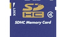 "Toshiba's ""world's first"" class-4 8GB SDHC card"