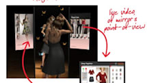 Magic Mirror -- voyeurism while you shop