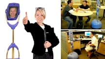 Giraffe video conferencing robot to weird employees out