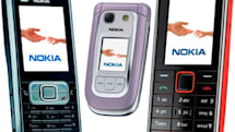 Nokia pushes the 6121, 6267, 3500 out in the middle of the road