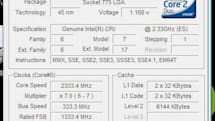 Intel's Wolfdale processor gets benchmarked
