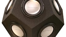 Elemental Designs' 12-sided subwoofer will implode your universe