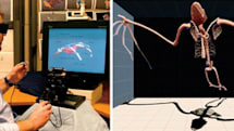 Brown University demonstrates Drawing on Air system