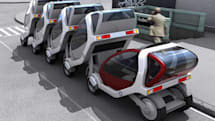 MIT developing carbon-free, stackable rental cars