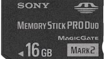 Sony intros 16GB Memory Stick Duo