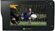 Motorola's DH01 DVB-H mobile TV with 4.3-inch screen, DVR