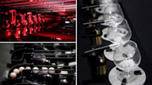 Absolut Quartet: robots making music with ping pong balls and brandy glasses