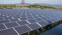 Napa Valley winery flips on Flotovoltaic solar array