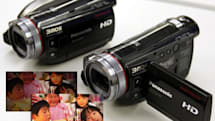 Panasonic's HDC-SD100 and HDC-HS100 AVCHD camcorders, now with extra MOS