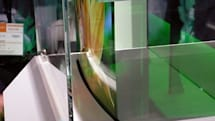 Sony's 0.3mm OLED gets all bent at CEATEC