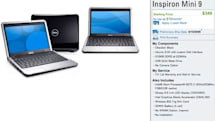 Dell's Inspiron Mini 9 pops official -- Ubuntu starts at $349 (Update: $99 with purchase of 2nd Dell)