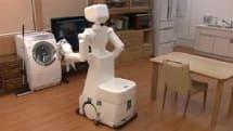 The Assistant Robot cleans almost all that you soil