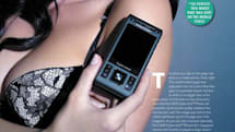 Sony Ericsson's new ad shows off the C905's camera and absolutely nothing else