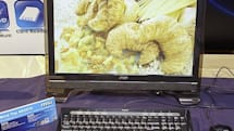 MSI showcases Wind Top AE1900, AE2010, AE2200 touchscreen all-in-ones