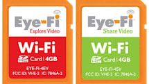 Eye-Fi does video with new 4GB Explore Video and Share Video cards, launching an iPhone app