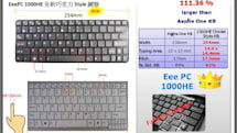 ASUS: Our Eee PC 1000He is better than Acer's Aspire One D150, fashion elegant too