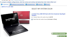 Dell's Mini 9 vanishes from retail site as red Studio XPS 16 returns (update: Mini 9 is on the outs)