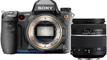 Sony Alpha 850 leaked, looks exactly like the Alpha 900?