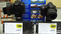 Nikon D300s spotted and tested at Best Buy with its little brother, still does that jelly video thing