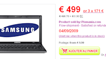 Samsung's Ion-infused N510 netbook steeply priced across the pond