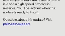 Palm Pre WebOS 1.3.1 update available now