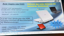 Acer Aspire One 532G with ION 2 priced at an aggressive 379 euros