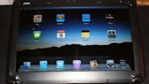 Wind U100 magically modded into tablet-thing, iPad UI along for the ride