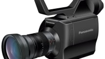 Panasonic's AF100 Micro Four Thirds video camera considers itself 'professional'
