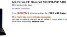ASUS Eee PC 1005PR up for pre-order: $400 for your own HD savvy netbook
