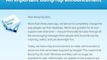 BumpTop acquired by Google, no longer available