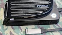MSI Graphics Upgrade Solution seeks an ExpressCard slot to call home