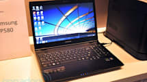 Samsung P580 business laptop hands-on