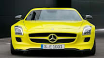 Mercedes-Benz SLS E-Cell prototype fuels our electric dreams with 526 horses