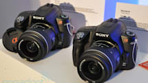 Sony Alpha A390 and A290 DSLRs hands-on
