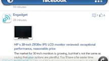 New Facebook Beta for webOS (v1.2.30) adds landscape viewing, inline comments