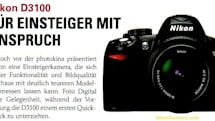 Nikon D3100 SLR, Coolpix S1100pj and S5100 compacts leaked in German magazine