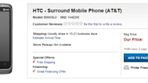 HTC 7 Surround slides into Best Buy for $550 unsubsidized, Omnia 7 appears at T-Mobile UK
