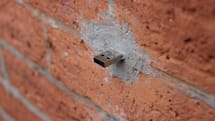 New York City walls play host to covert thumbdrives