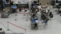 Watch the next Mars rover being built... via USTREAM! (video)