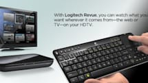 Logitech Revue with Google TV details: $299; free iOS, Android apps, accessories are extra