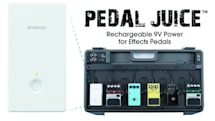 Sanyo Pedal Juice battery pack powers your wah-wah without distortion