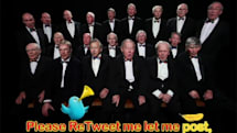UK voice choir sings Please Retweet Me song for charity, probably has no idea what it means (video)