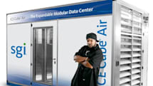 SGI's ICE Cube Air Modular Data Centers can be deployed anywhere, even in the hood